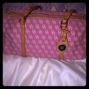 Dooney Bourke pink handbag